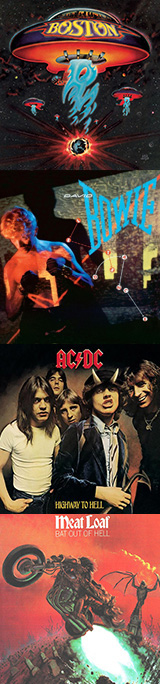 The Classic Rock Show, Best Selling Albums
